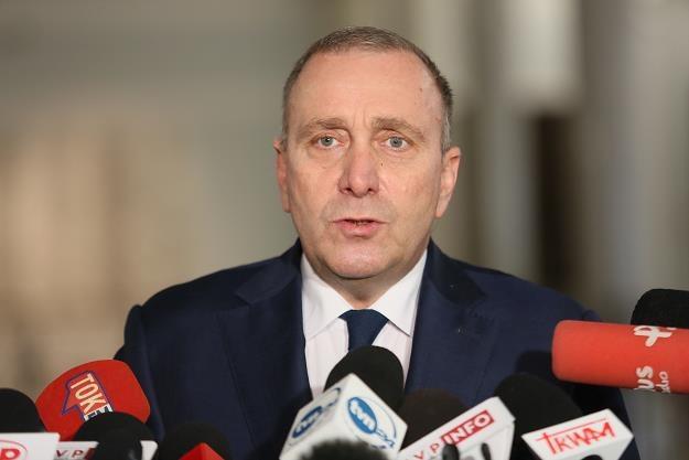 Przewodniczący PO Grzegorz Schetyna /PAP