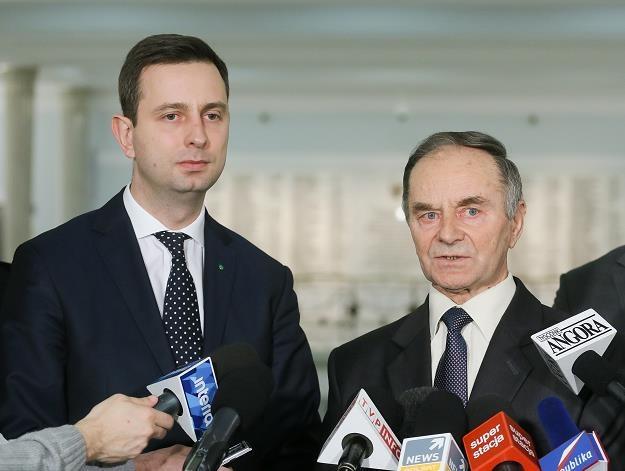 Przewodniczący PSL Władysław Kosiniak-Kamysz (L) /PAP