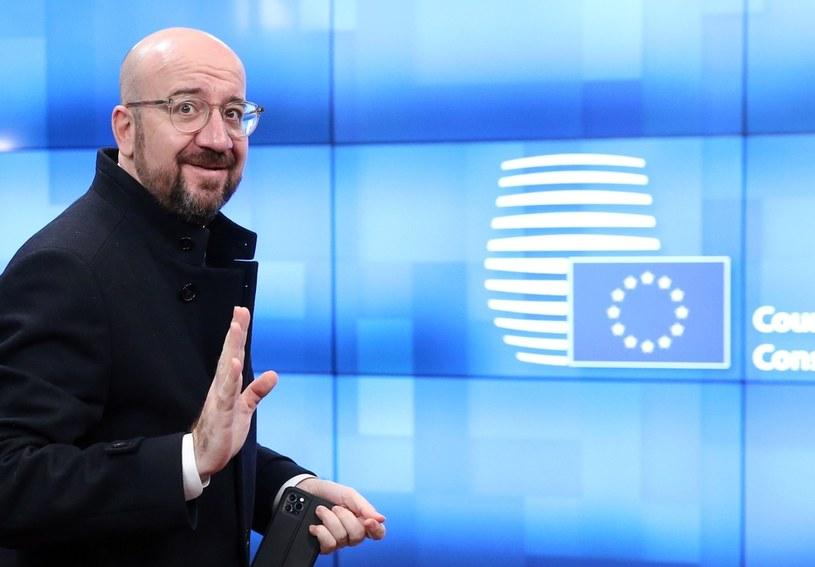 Przewodniczący Rady Europejskiej Charles Michel ma problem /AFP