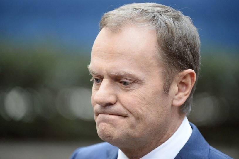 Przewodniczący Rady Europejskiej Donald Tusk /AFP