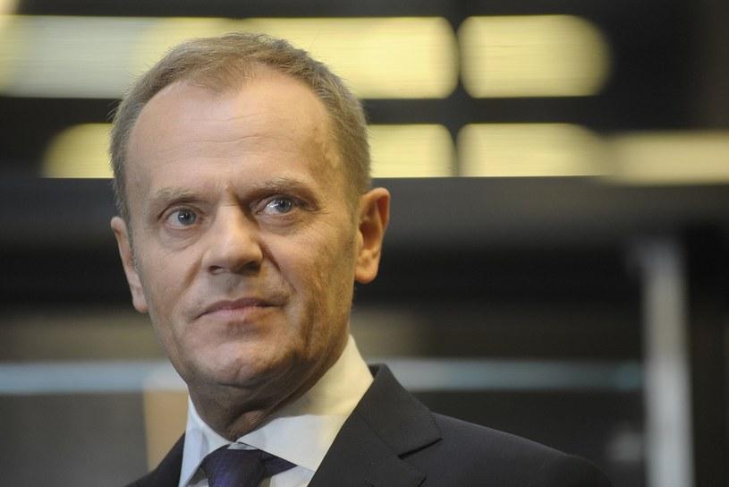 Przewodniczący Rady Europejskiej Donald Tusk /Wojciech Strozyk/REPORTER /East News
