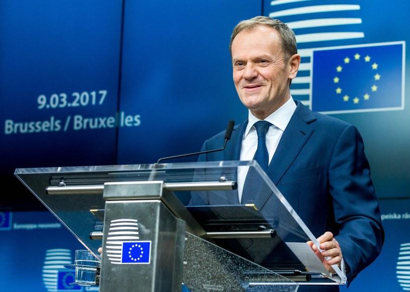 Przewodniczący Rady Europejskiej Donald Tusk /PAP/EPA