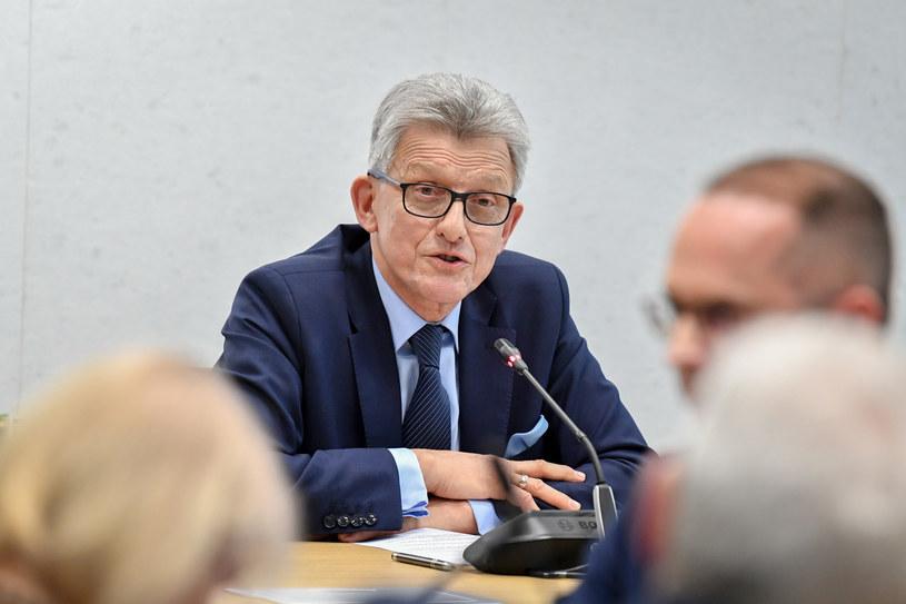 Przewodniczący sejmowej komisji sprawiedliwości Stanisław Piotrowicz /Jacek Domiński /Reporter