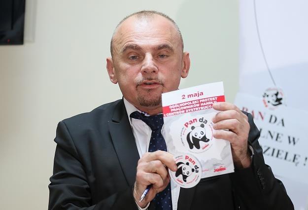 Przewodniczący Sekcji Banków Handlu i Usług w NSZZ Solidarność Alfred Bujara /PAP