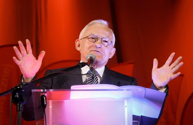 Przewodniczący SLD Leszek Miller podczas III Sejmiku Kobiet Lewicy /Paweł Supernak /PAP