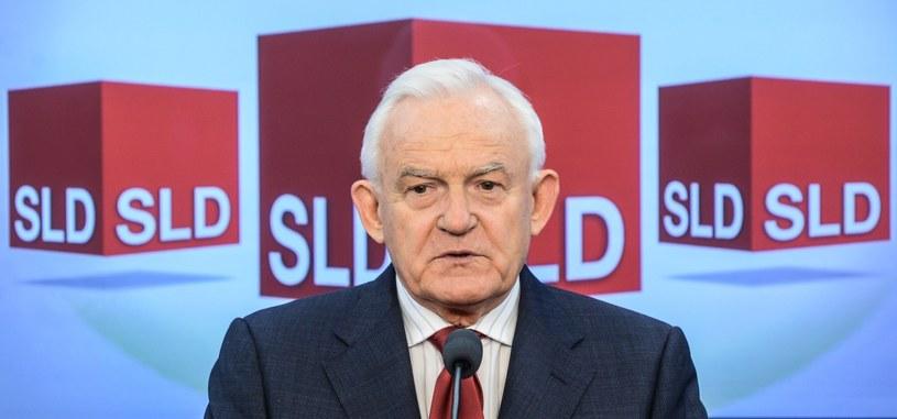 Przewodniczący SLD Leszek Miller /Jakub Kamiński   /PAP