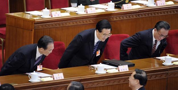 Przewodniczący Stałego Komitetu chińskiego parlamentu Wu Bangguo /AFP