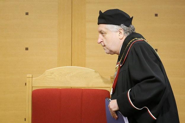 Przewodniczący TK Andrzej Rzepliński /Paweł Supernak /PAP