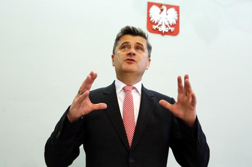 Przewodniczący TR Janusz Palikot /Tomasz Gzell /PAP