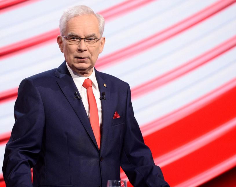 Przewodniczący Unii Pracy Waldemar Witkowski /Jan Bogacz /East News