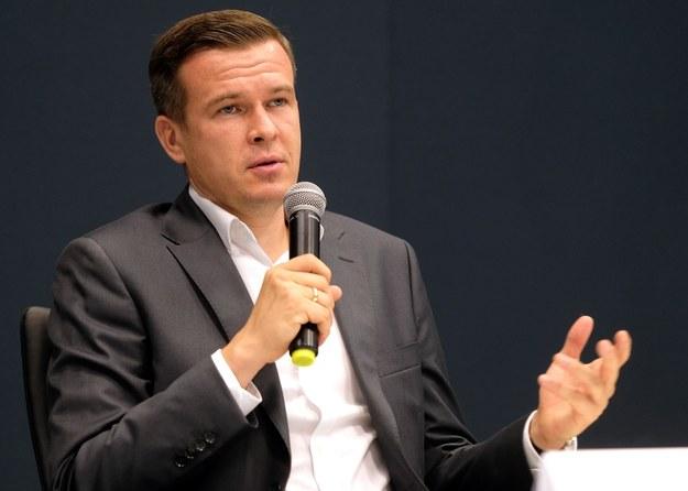 Przewodniczący WADA Witold Bańka / Andrzej Grygiel    /PAP