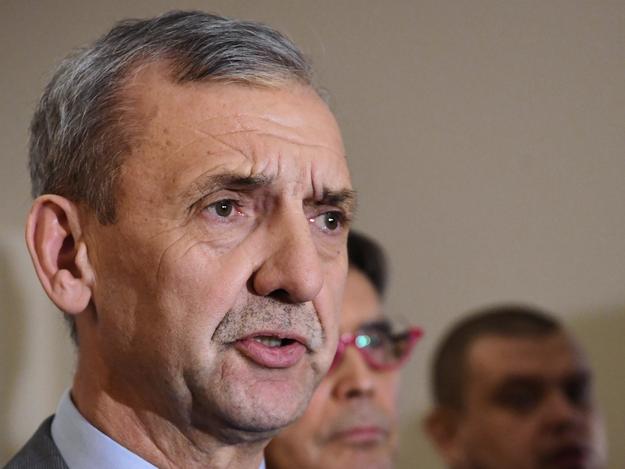 Przewodniczący ZNP Sławomir Broniarz / Piotr Polak    /PAP