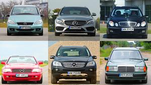 Przewodnik po oznaczeniach kodowych modeli Mercedesa