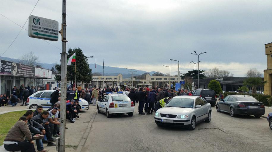 Przewoźnicy czekający na odblokowanie przejść /Gorąca Linia RMF FM - Artur /Gorąca Linia RMF FM