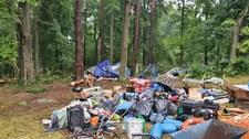 Przewrócone kajaki i namioty. Ewakuacje obozów harcerskich po nawałnicy