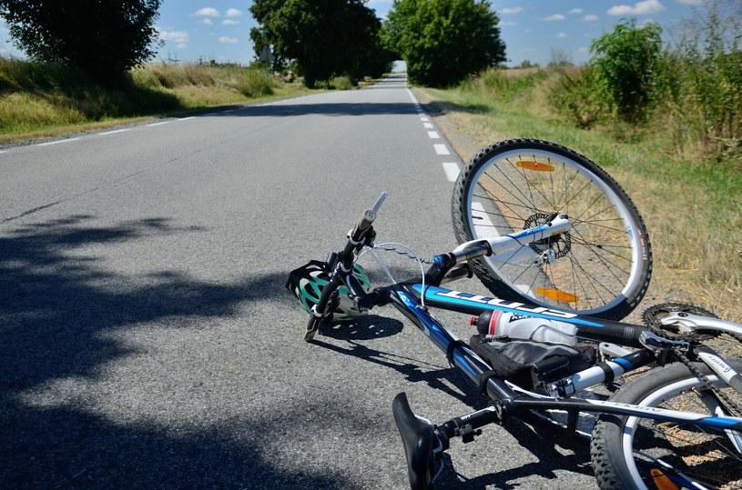 Przewrócony rower. Zdjęcie ilustracyjne /Bartlomiej Magierowski /East News