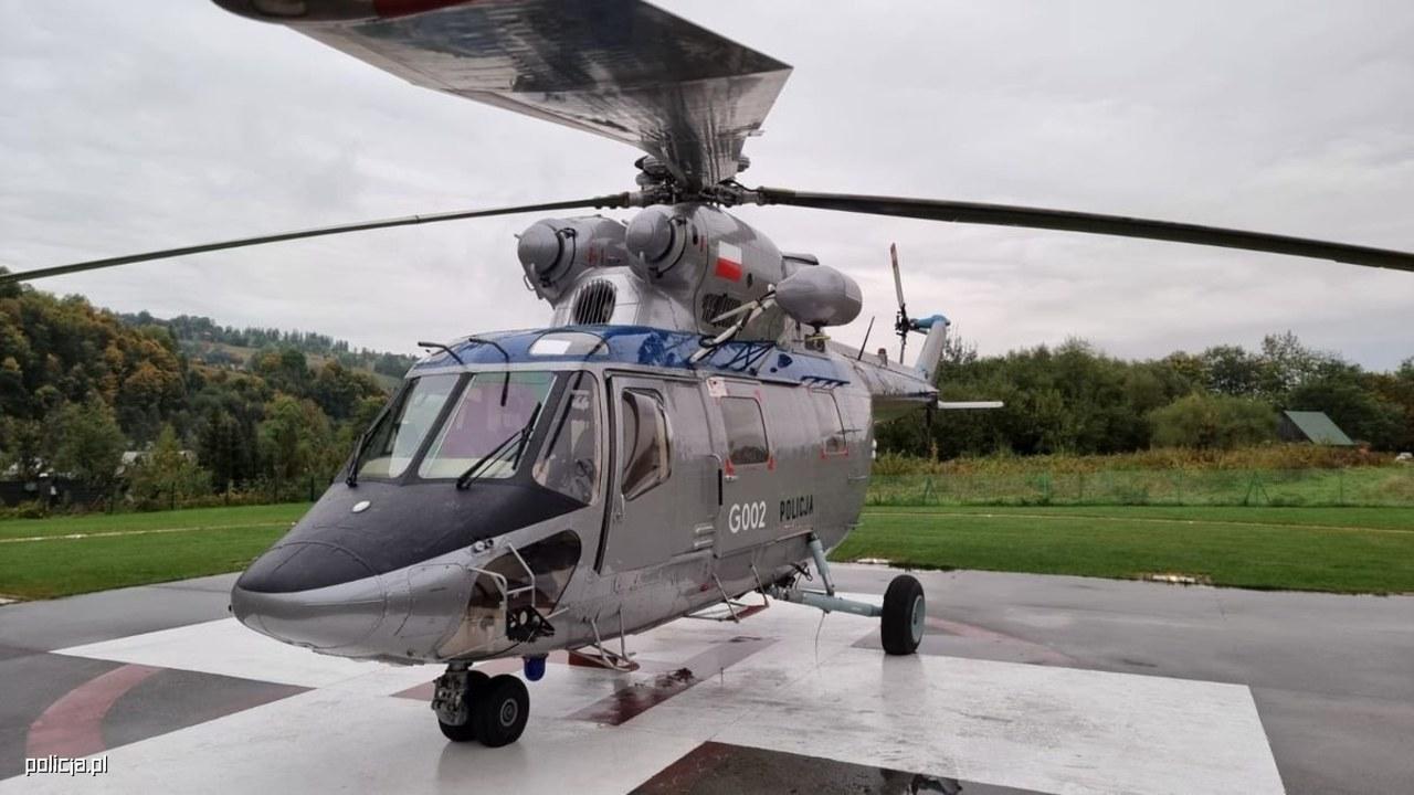 Przez cały październik nad Tatrami będzie latać policyjny śmigłowiec