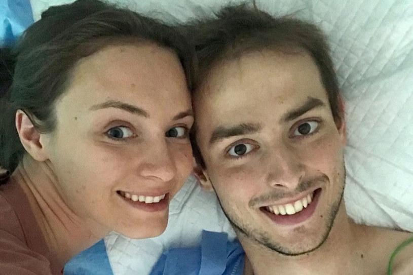 Przez cały proces leczenia Andrzejowi towarzyszyła partnerka, Joanna Głuchowska /materiały prasowe
