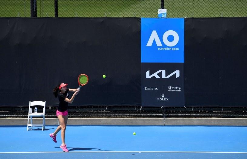 Przez COVID-19 nie wszyscy mogą trenować przed Australian Open /AFP