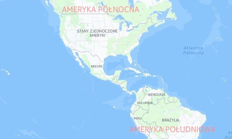 Przez Meksyk do USA - to droga wielu nielegalnych imigrantów /INTERIA.PL