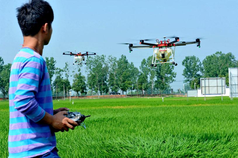 Przez ostatnie 5 lat wykryto co najmniej 12 prób przemytu przy pomocy dronów /AFP