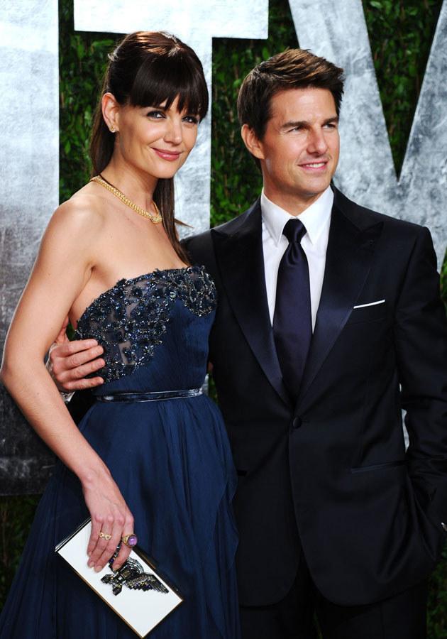 Przez pięć lat małżeństwa z Tomem Cruisem Katie do perfekcji opanowała sztuczne uśmiechy /Alberto E. Rodriguez /Getty Images