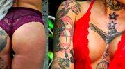 Przez upiorne tatuaże nie może znaleźć faceta