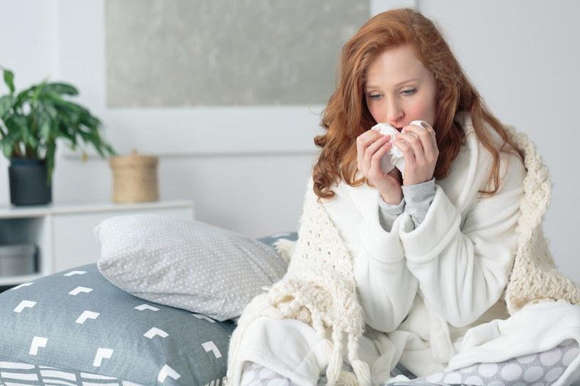 Przeziębienie /©123RF/PICSEL