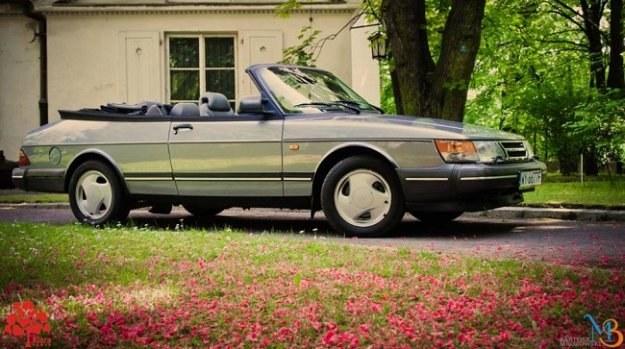 Przeznaczony na aukcję Saab 900 Turbo Cabrio (fot. Bartek Mrozowski) /Klara Power