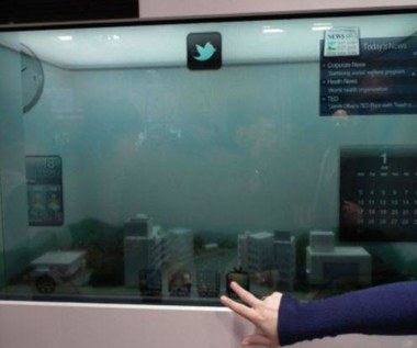 Przeźroczysty LCD Samsunga wchodzi do produkcji