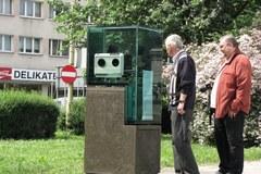 Przy Bramie Portowej w Szczecinie stanął pomnik powielacza