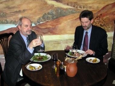Przy dobrym obiedzie nie wypadało się kłócić.... /INTERIA.PL