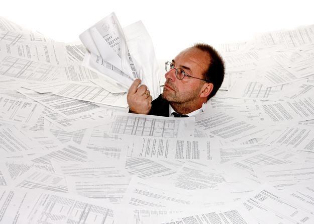 Przy kontroli ukrytych dochodów przydatne mogą być rachunki nawet sprzed kilkunastu lat /© Panthermedia