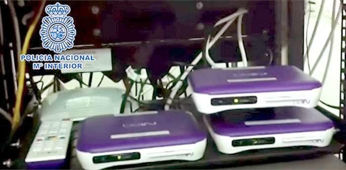 Przy pomocy takich urządzeń prowadzono nielegalny streaming /SatKurier
