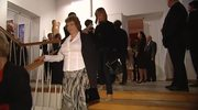 Przybycie gości na bankiet z okazji 69. urodzin Lecha Wałęsy.