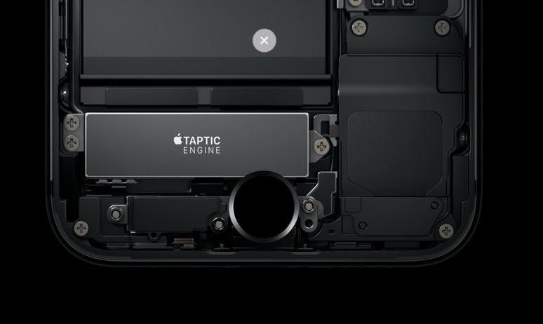 Przycisk z technologią Taptic Engine to jedna z nowości iPhone'a 7 /materiały prasowe