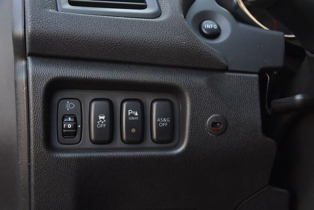 przyciski /Motor