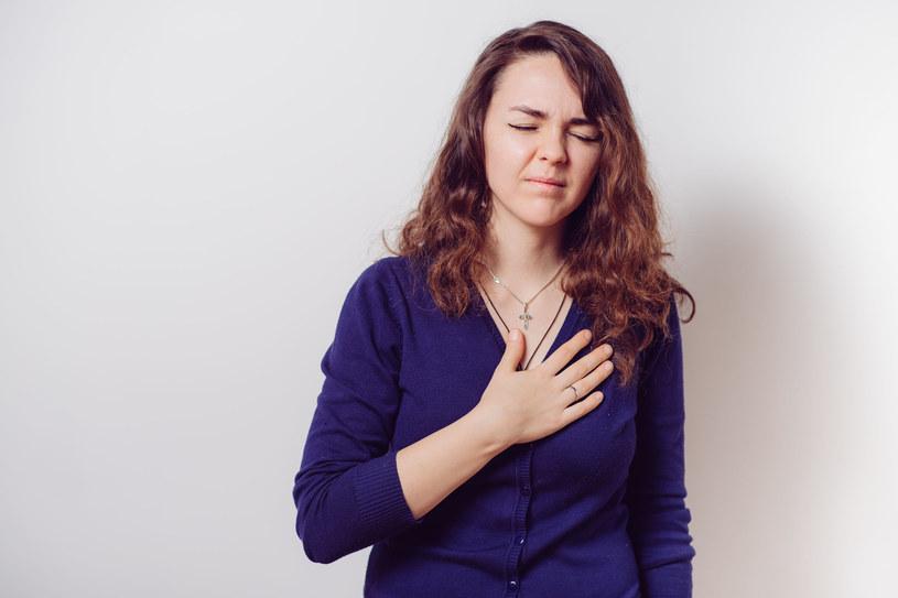 Przyczyn bólu mostka może być bardzo wiele, to nie musi być zawał /123RF/PICSEL