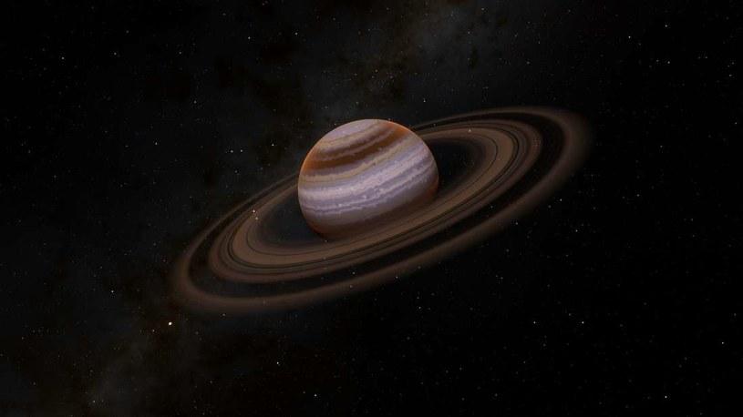 Przyczyną drastycznego spadku jasności gwiazdy może być egzoplaneta z pierścieniem pyłowym /materiały prasowe