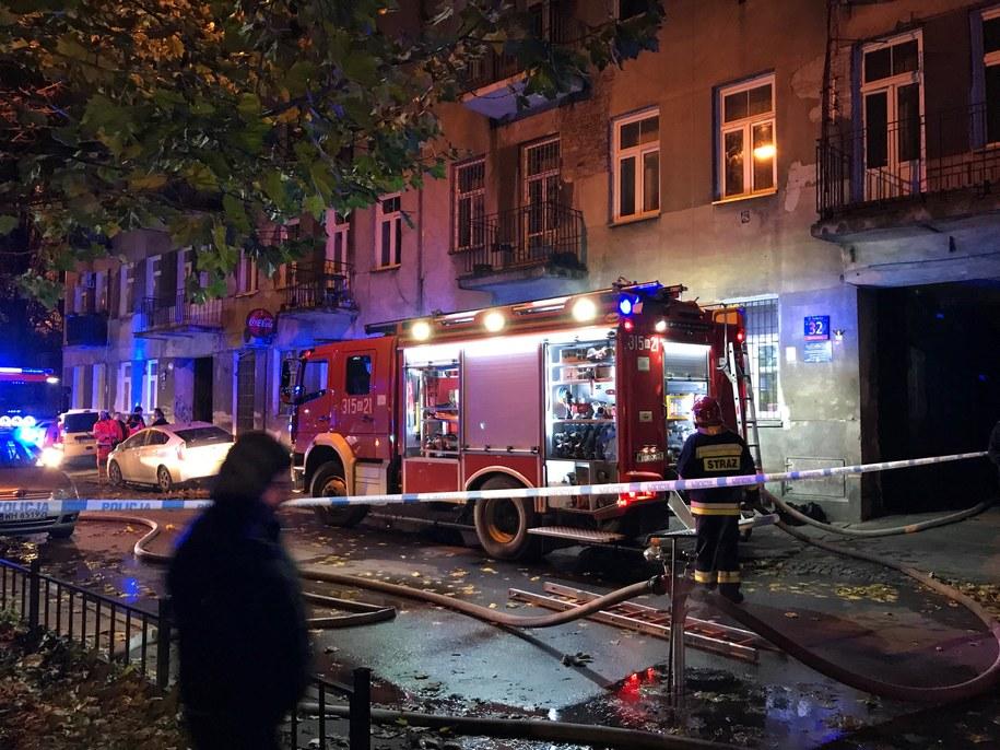 Przyczyną ekplozji mogły być materiały wybuchowe /Mariusz PIekarski /RMF FM