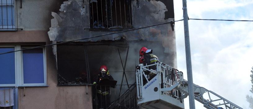 Przyczyna wybuchy nadal nie jest znana /Marcin Bielecki /PAP