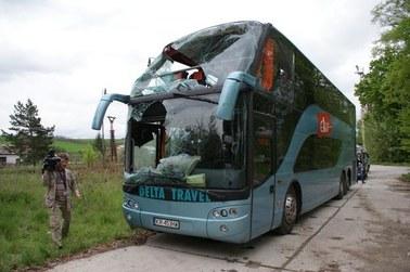 Przyczyną wypadku polskiego autobusu na Słowacji mogła być nieuwaga kierowcy