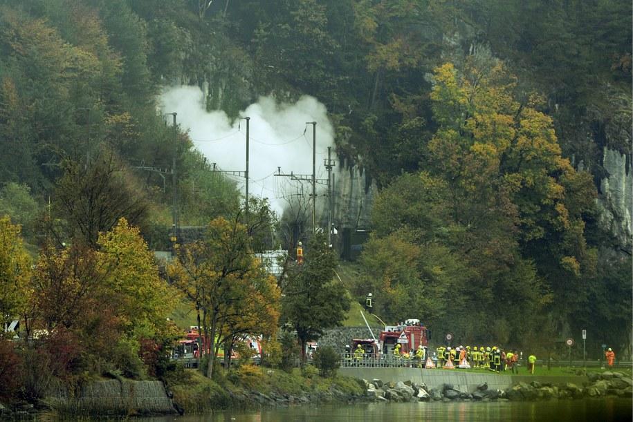 Przyczyny katastrofy nie są jeszcze znane /URS FLUEELER /PAP/EPA
