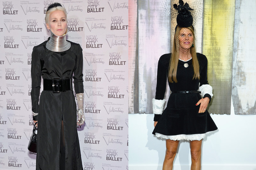 Przyglądając się niektórym współczesnym stylizacjom, można się zastanawiać nad tym, co różni ekscentryczki od ofiar mody. Na zdj. Daphne Guiness i Anna dello Russo /Getty Images