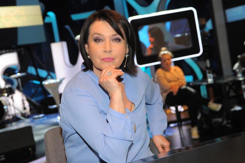Przygodę z telewizją Jaworowicz zaczęła juz na studiach. Początkowo prowadziła... kącik mody /Michał Wargin /East News