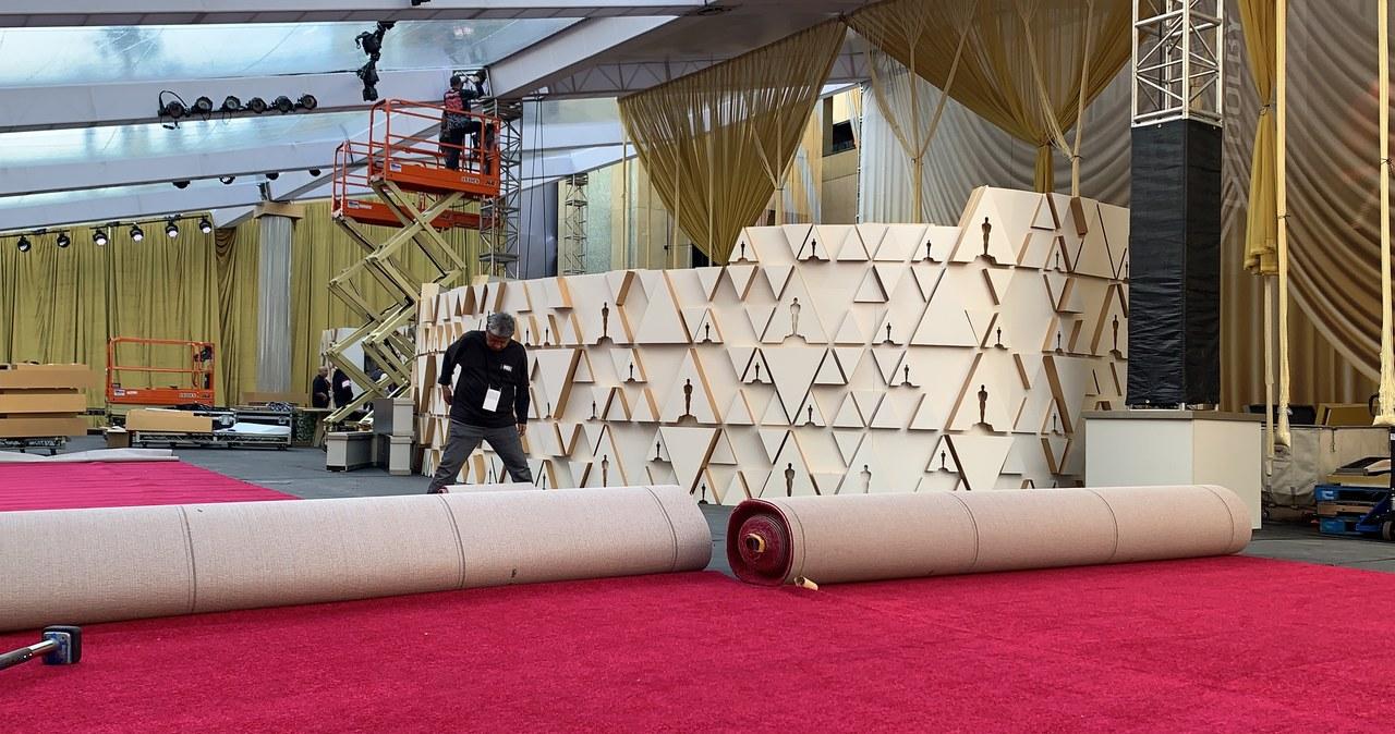 Przygotowania do ceremonii wręczenia Oscarów