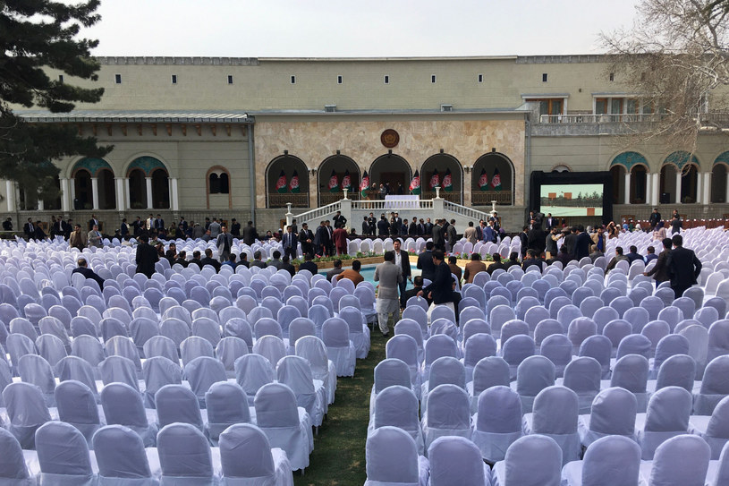 Przygotowania do ceremonii zaprzysiężenia /WAKIL KOHSAR / AFP /East News
