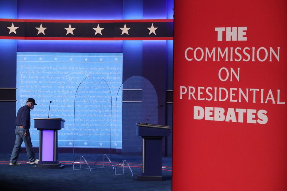 Przygotowania do debaty /MICHAEL REYNOLDS    /PAP/EPA