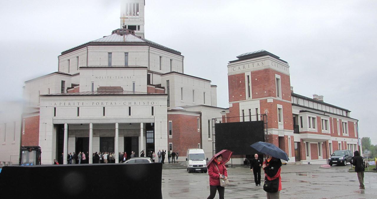 Przygotowania do kanonizacji w krakowskich Łagiewnikach
