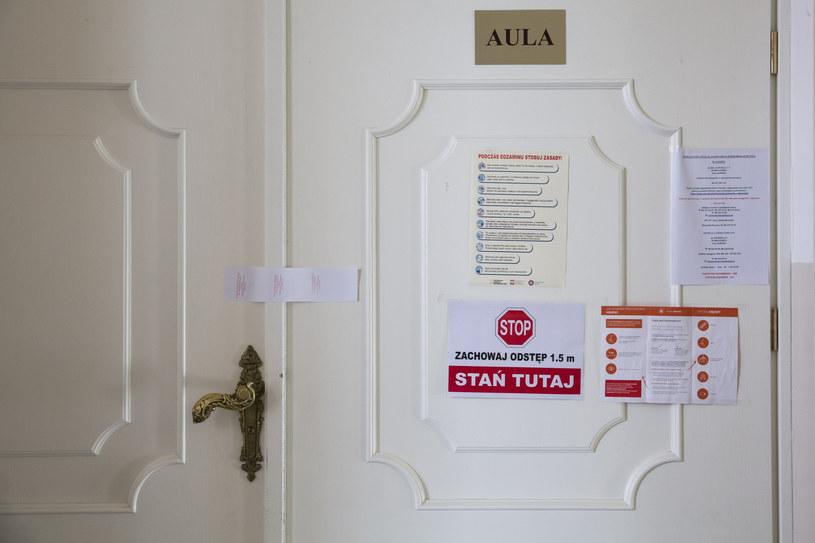 Przygotowania do matury 2020 w nowym rygorze sanitarnym /INTERIA.PL